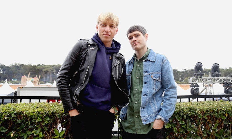 Outsidelands 2015 -The Drums, Saturday Aug. 8, 2015. Natasha Dangond / Special to S.F. Examiner