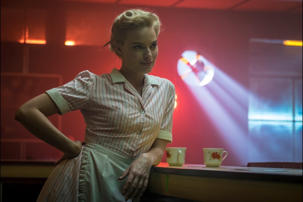 """Margot Robbie makes the most of her role in the tepid noir """"Terminal."""" (Courtesy RLJE Films)"""