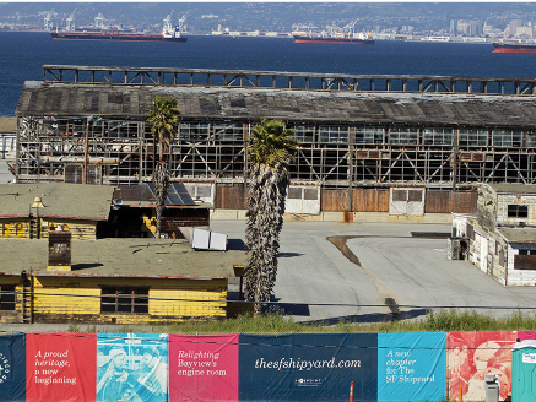 "The U.S. Navy has reportedly ""shown interest"" in an offer from Tetra Tech to pay for the retesting of soil at Hunters Point Shipyard in San Francisco. (Kevin N. Hume/S.F. Examiner)"