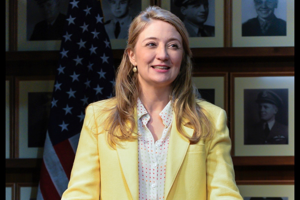 "Heidi Schreck wrote and appears in ""What the Constitution Means to Me,"" a funny, touching and educational show. (Courtesy Alessandra Mello/Berkeley Repertory Theatre)"
