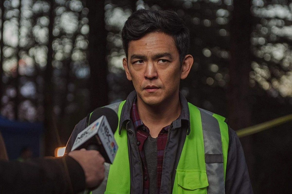 """John Cho plays a dad whose daughter is missing in """"Searching."""" (Courtesy Screen Gems)"""