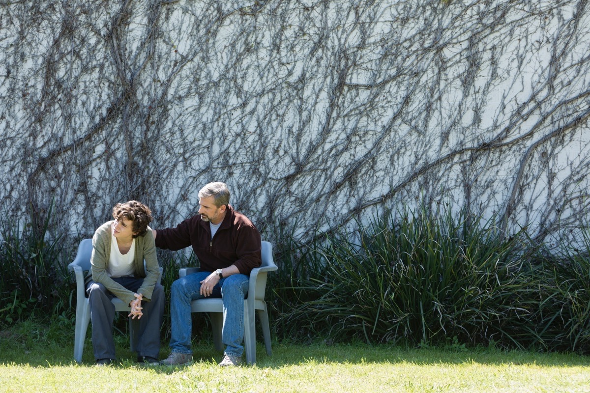 "Timothee Chalamet, left, and Steve Carell are impressive in ""Beautiful Boy."" (Courtesy Amazon Studios)"