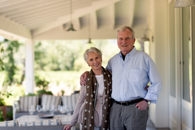Kate and Cam Baker are the current proprietors of Larkmead, outside of Calistoga. (Courtesy photo)