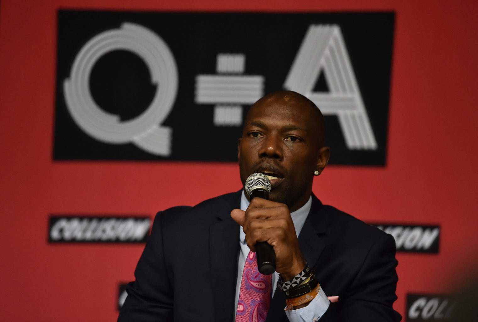 Terrell Owens took a shot at the 49ers when confronted by TMZ's cameras. (Courtesy Collision Conf/Flickr)