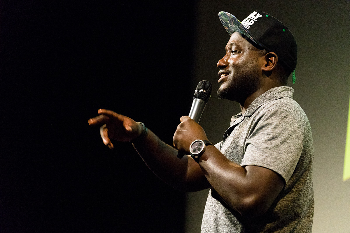 Stand-up comedian Hannibal Buress was arrested in Miami on Saturday. (Courtesy photo)
