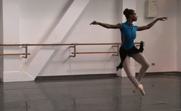 "Ashley Murphy is among the dancers featured in director Frances McElroy's ""Black Ballerina."" (Courtesy Frances McElroy, Shirley Road Productions)"