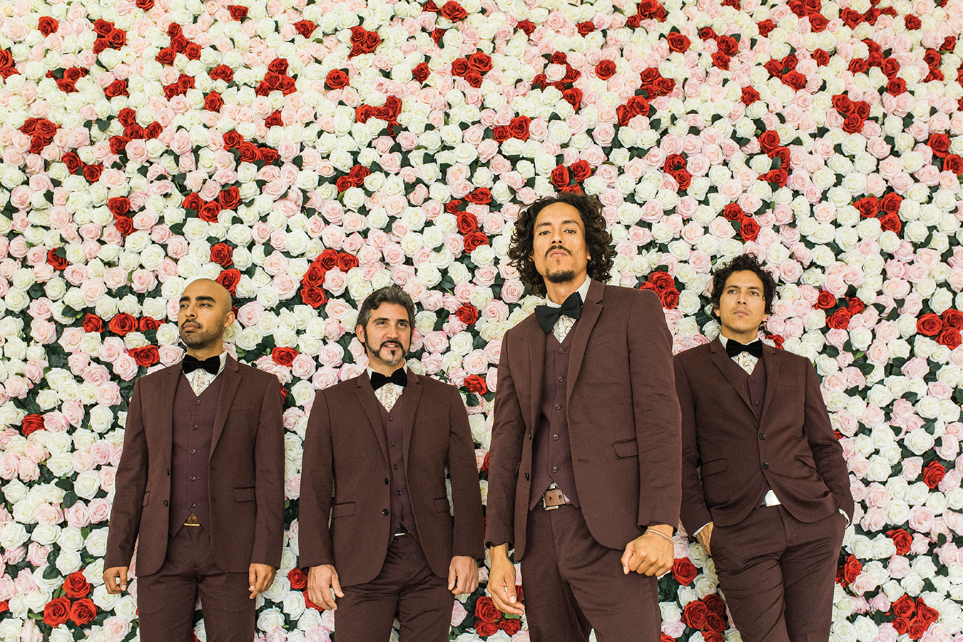 """Chicano Batman's colorful sold-out show at the Fox offered music from the 2017 album """"Freedom Is Free."""" (Courtesy Josue Rivas)"""