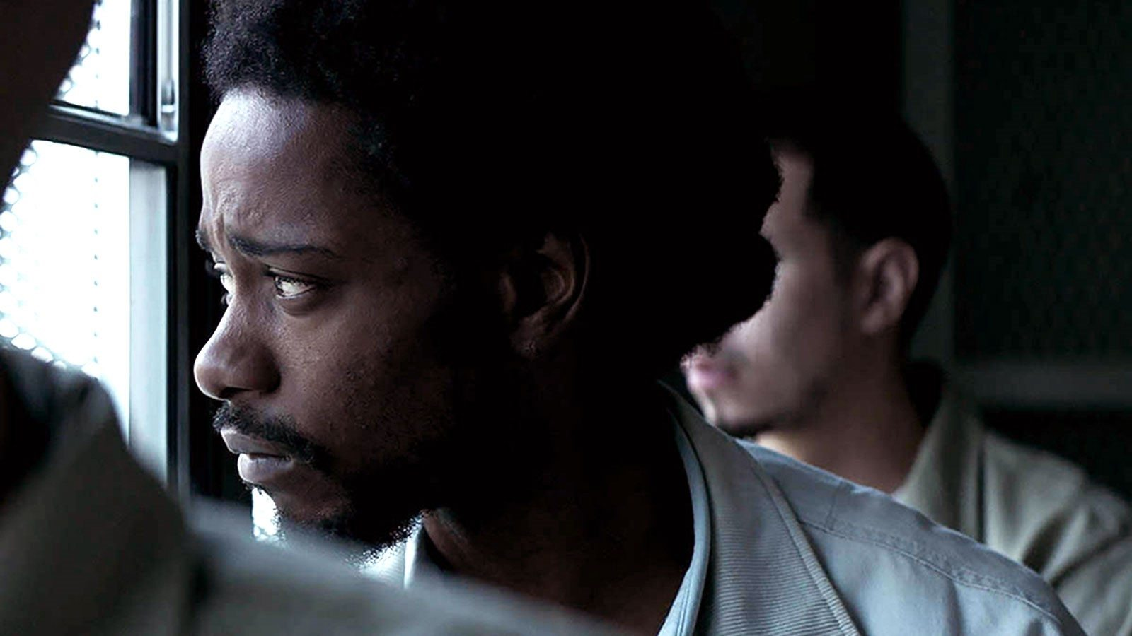 "Lakeith Stanfield's expressive performance shows the horrors of the prison system in ""Crown Heights,"" based on a true story. (Courtesy IFC Films)"