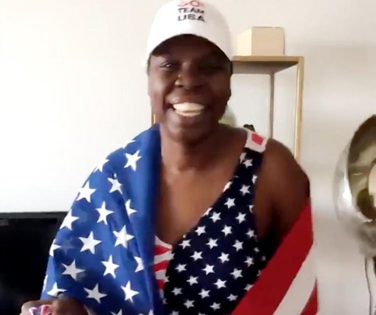 Comedian Leslie Jones has been providing fun commentary on the Rio Olympics on Twitter.  (Courtesy photo)