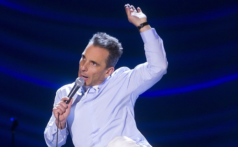 Sebastian Maniscalco brings his observational and physical humor to  Montalvo Arts Center this weekend. (Courtesy Todd Rosenberg)