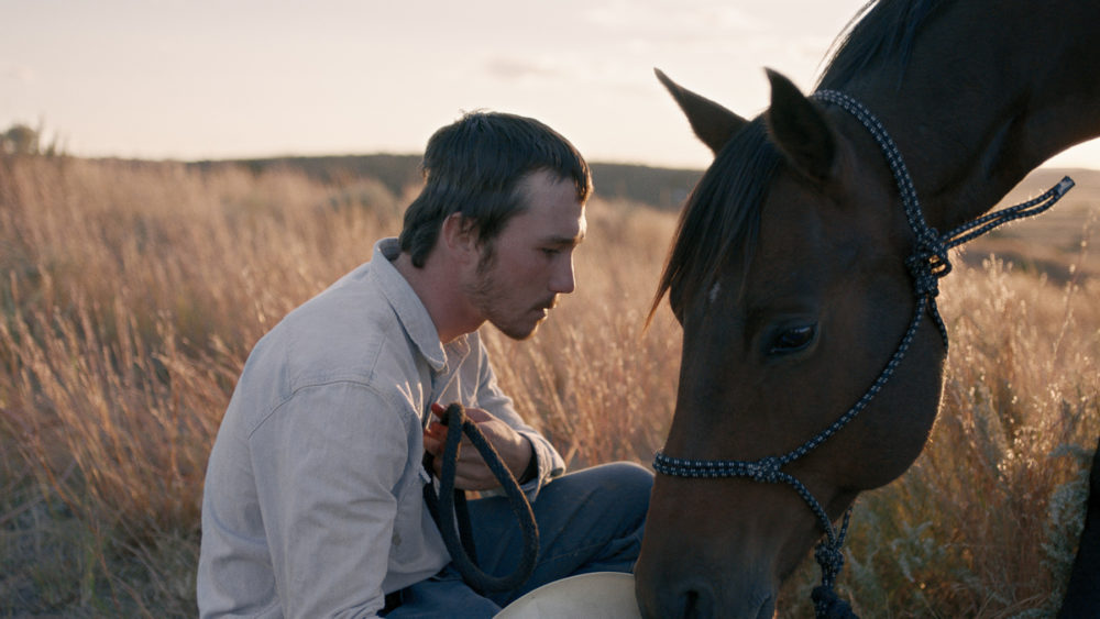 The Rider, a naturalistic film by Chloe Zhao about a young rodeo rider who suffers a life-threatening injury,  screens April 5 and 7 at SFMOMA. [Courtesy SFFILM]