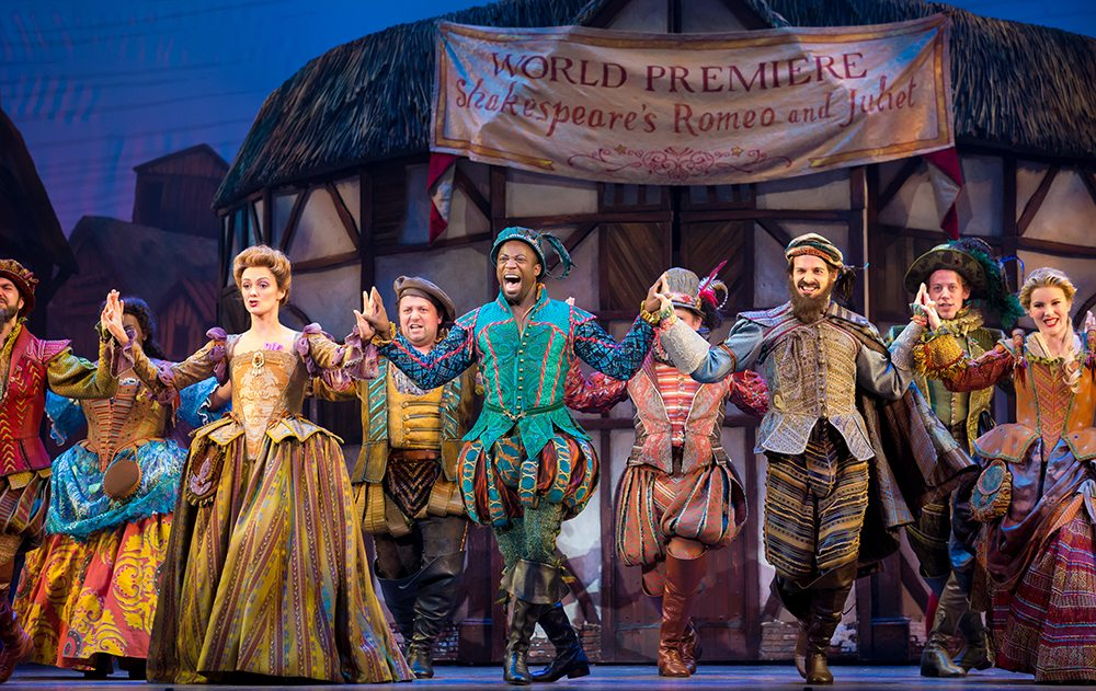 "The national tour of ""Something Rotten!,"" the sassy Broadway musical set in the Renaissance, has begun a four-week run at the Orpheum. (Courtesy Jeremy Daniel)"