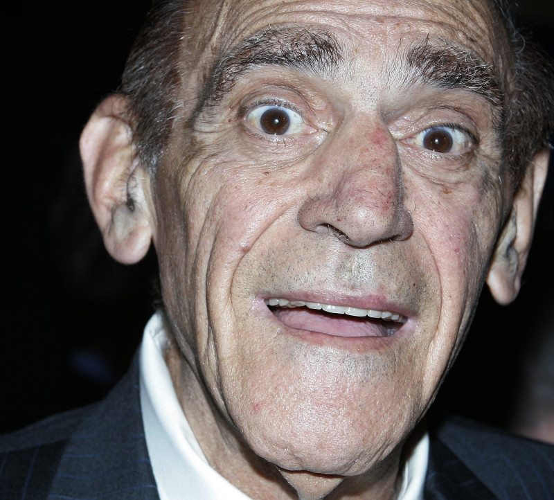 "Actor Abe Vigoda, pictured in 2006, is best known for his performances in ""The Godfather"" and on ""Barney Miller."" (Stephen Chernin/AP)"