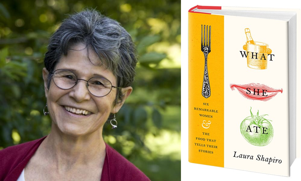 """Laura Shaprio's fascinating book """"What She Ate"""" analyzes the lives of six 19th and 20th century women through their connection with food. (Courtesy photo)"""