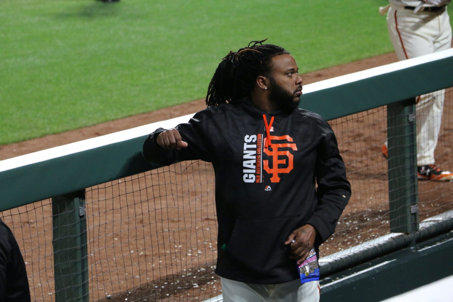 Johnny Cueto gave up five runs on 10 hits in five innings on Thursday. (Jacob C. Palmer/S.F. Examiner)