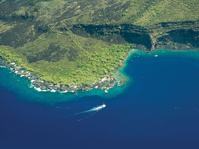 """Kealakekua Bay, also known as """"The Pathway of the Gods,"""" is a peaceful marine sanctuary with a dramatic historical past. (Courtesy photo)"""