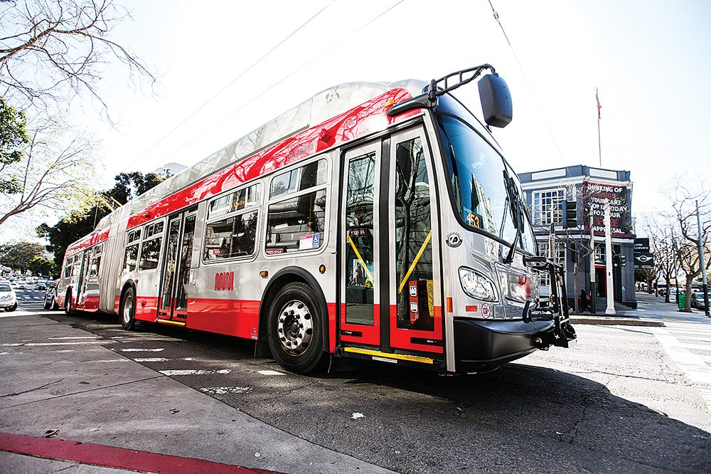 Ninety-eight buses in Muni's fleet will be installed with air conditioning by September. (Ekevara Kitpowsong/Special to S.F. Examiner)