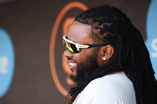 Johnny Cueto is working his way back.  (Emma Chiang/Special to S.F. Examiner)