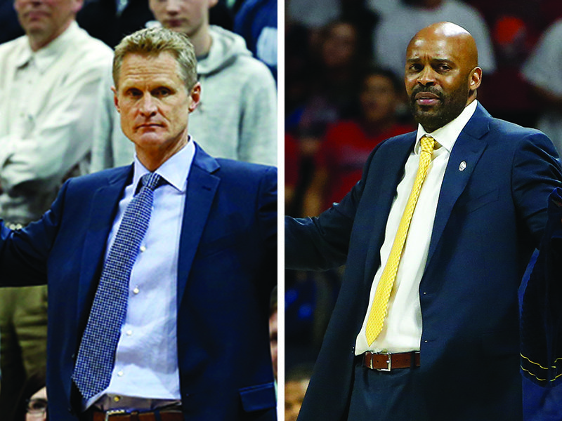 Steve Kerr reached out in support of Cuonzo Martin recently. (Jim Mone/Rick Scuteri/AP)
