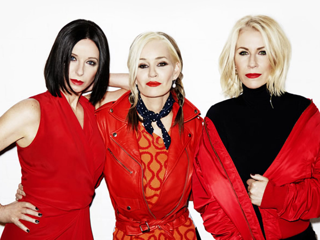A reunited Bananarama presented a united front on the San Francisco stop of their first-ever U.S. tour on Wednesday. (Courtesy Wendy Carig)