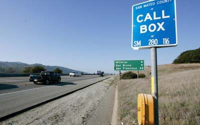 Number of roadside call boxes dwindling as use declines in Bay Area