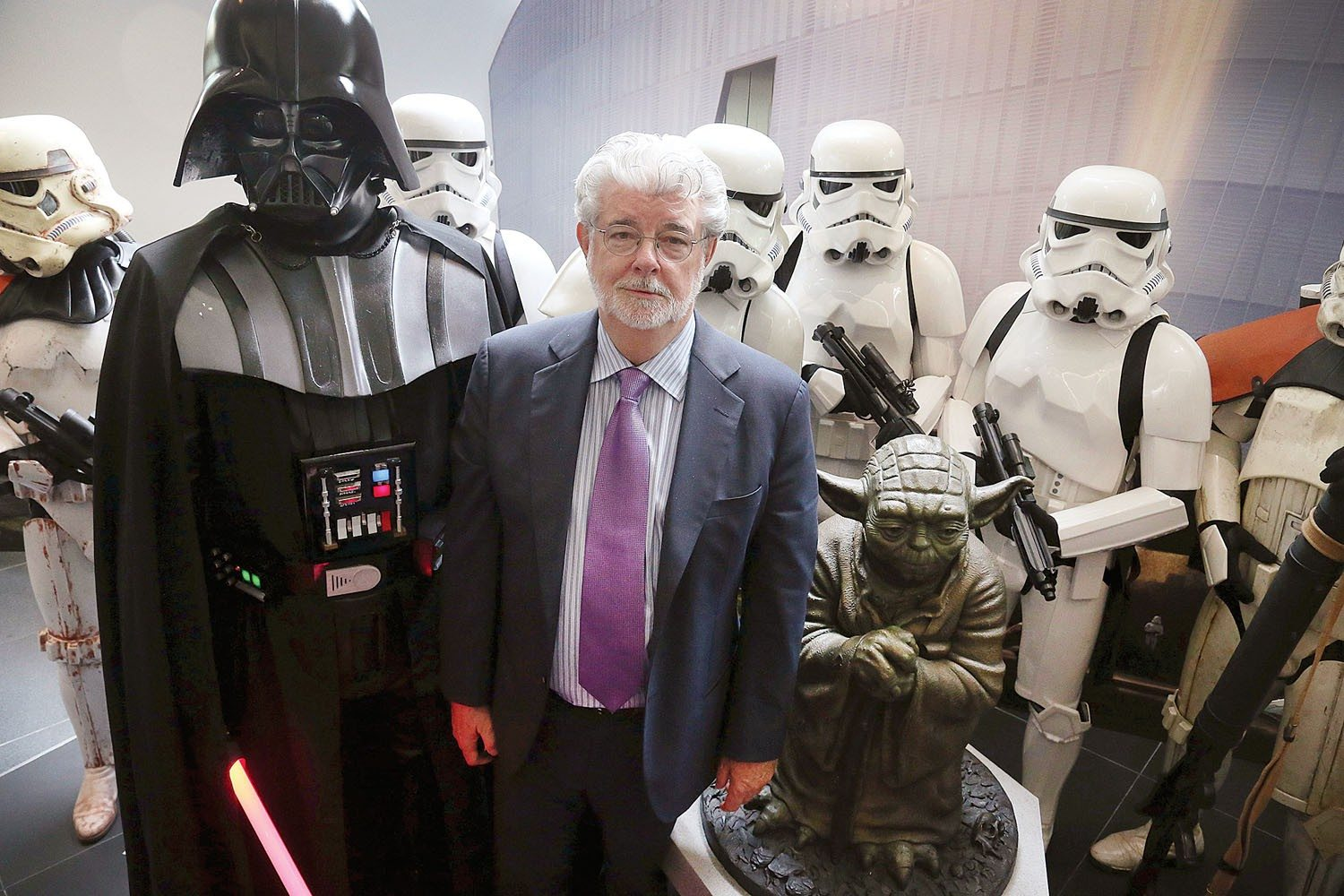 George Lucas will no longer build his Lucas Museum of Narrative Art with a collection of fine art and Hollywood memorabilia in Chicago after facing legal issues. (S.F. Examiner file photo)