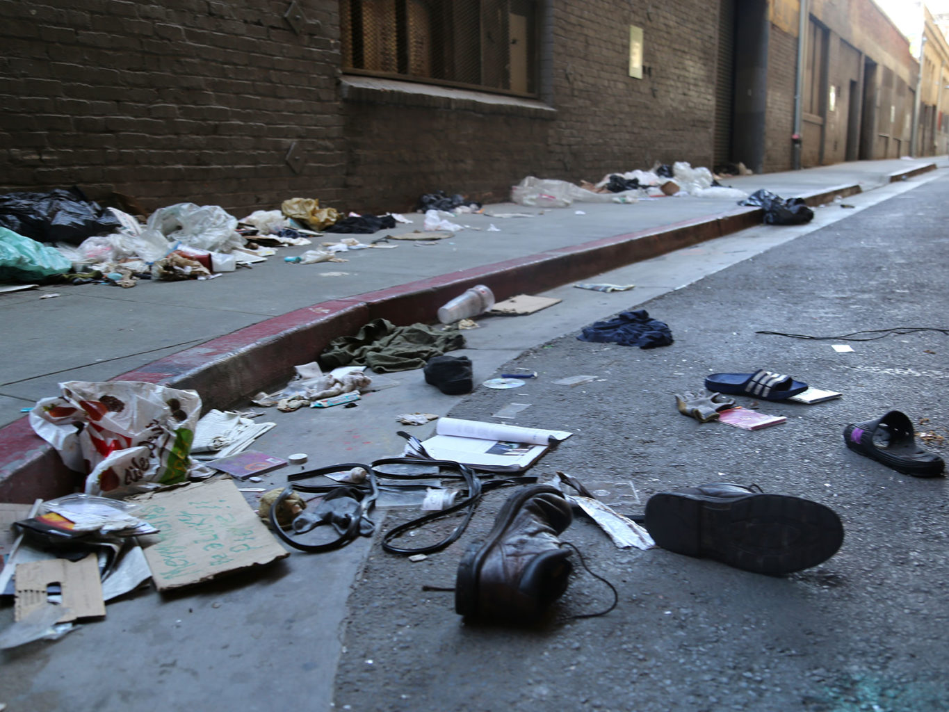 """The extent of San Francisco's sidewalk contamination is """"much greater than communities in Brazil or Kenya or India,"""" according to UC Berkeley's Dr. Lee Riley. (Mira Laing/2017 Special to S.F. Examiner)"""