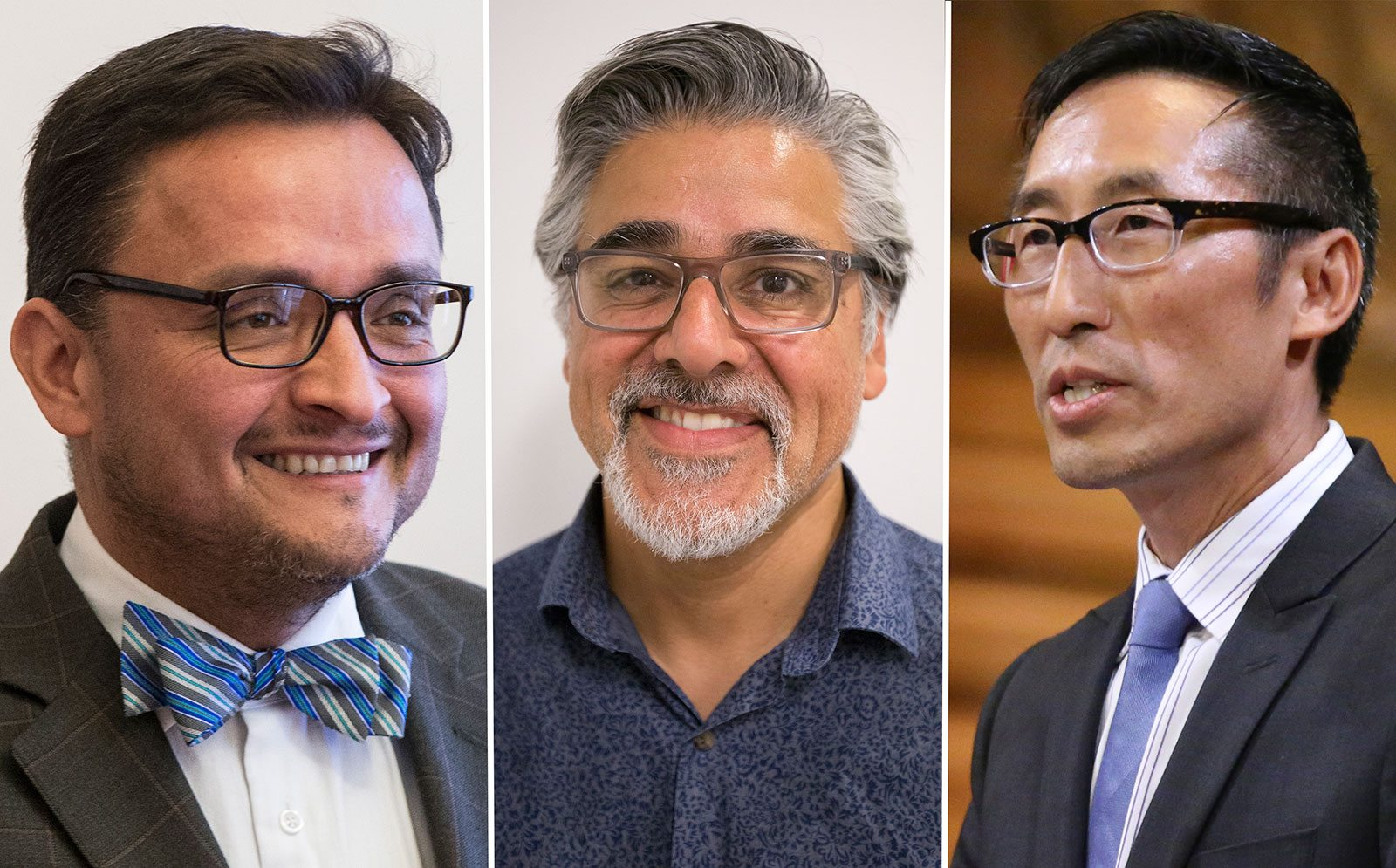 Supervisors David Campos, John Avalos and Eric Mar have served San Francisco with honor. (Left and center, Jessica Christian/S.F. Examiner; right, Mike Koozmin/S.F. Examiner)