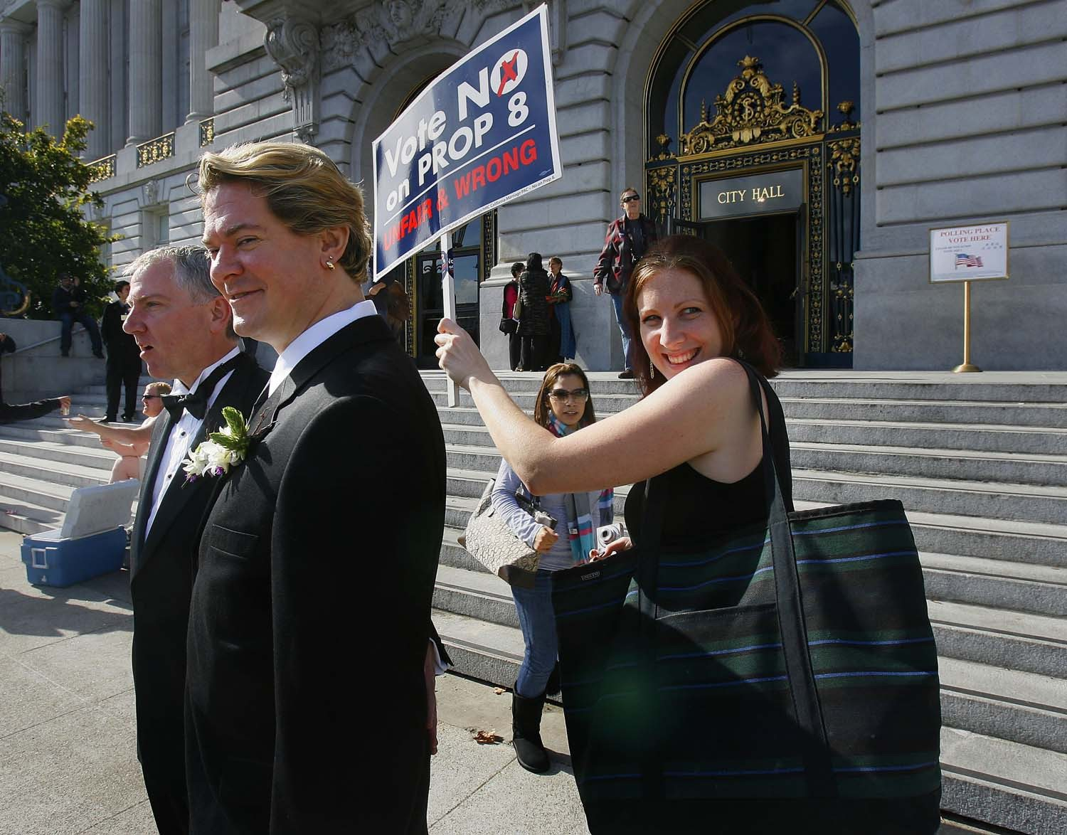 (AP file photo)California's highest court says ballot proposition sponsors can step in to defend their initiatives from legal challenges if the state's governor and attorney general refuse to do so.