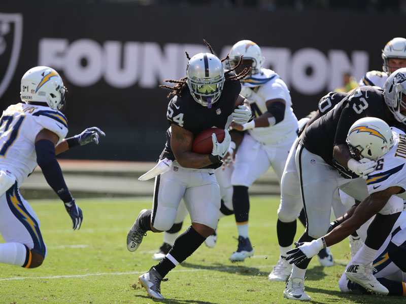 The president added Marshawn Lynch to his list of athletes he has a problem with on Monday. (Mira Laing/Special to S.F. Examiner)