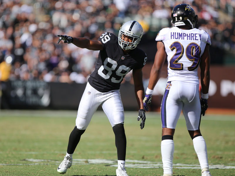 Amari Cooper isn't worried about having a bad three-game stretch. (Mira Laing/Special to S.F. Examiner)