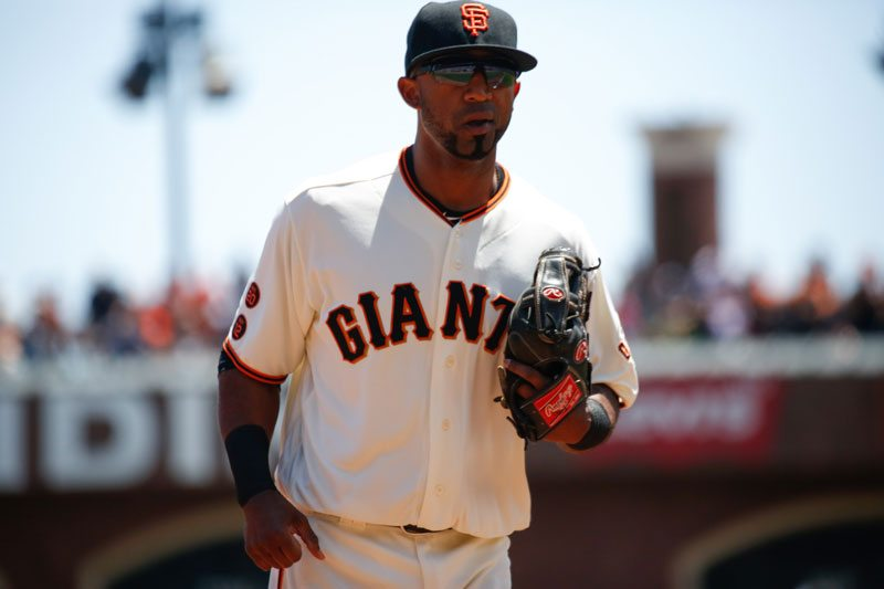 Eduardo Núñez is out of Monday's lineup. (Emma Chiang/Special to S.F. Examiner)