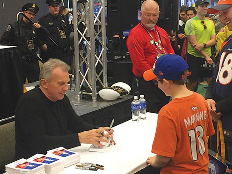 Joe Montana is still as cool as ever, which is valuable to the NFL, a league with identity issues. (Jay Mariotti/S.F. Examiner)