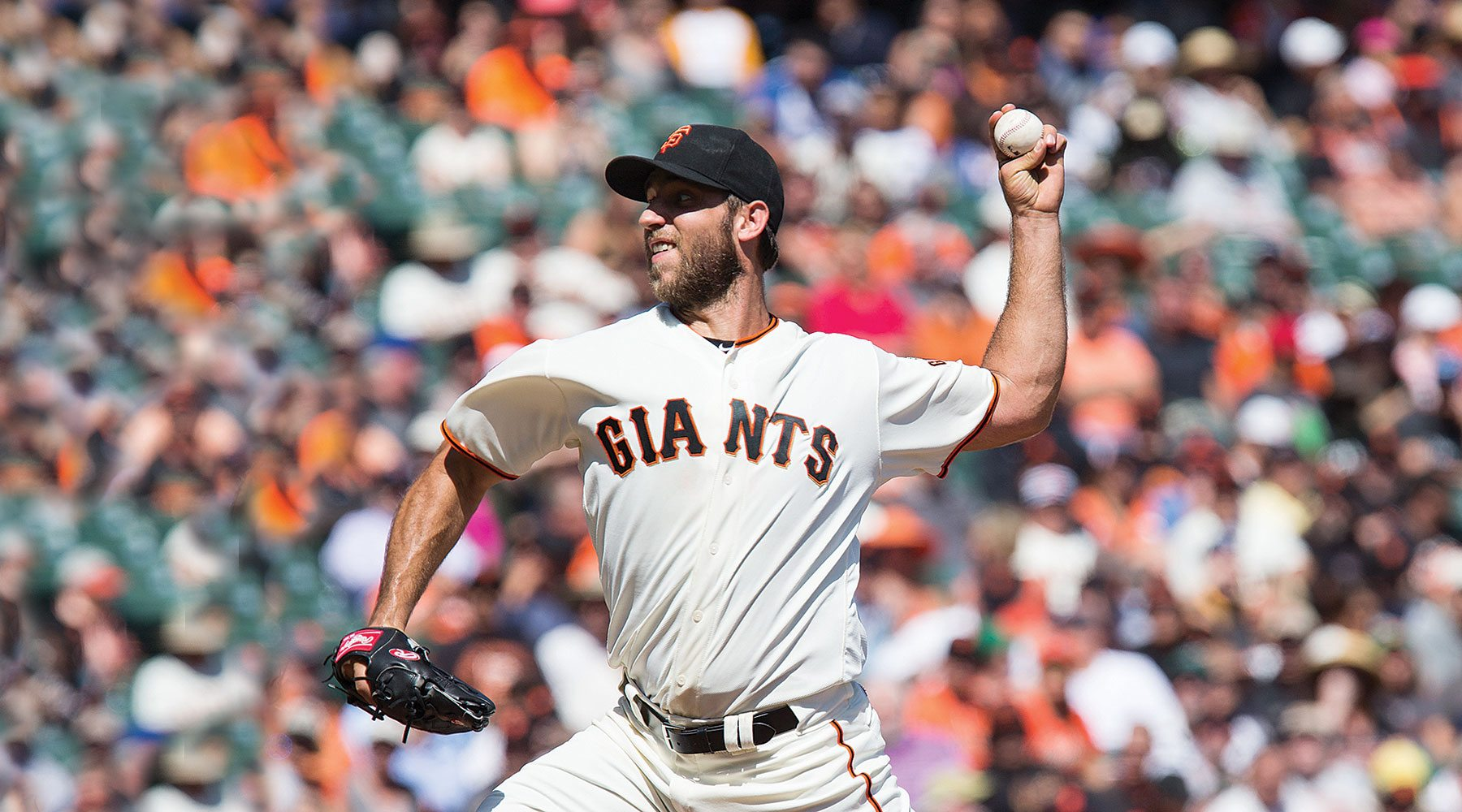 Madison Bumgarner has been here before. Can he deliver for the San Francisco Giants again? (Stan Olszewski/Special to S.F. Examiner)