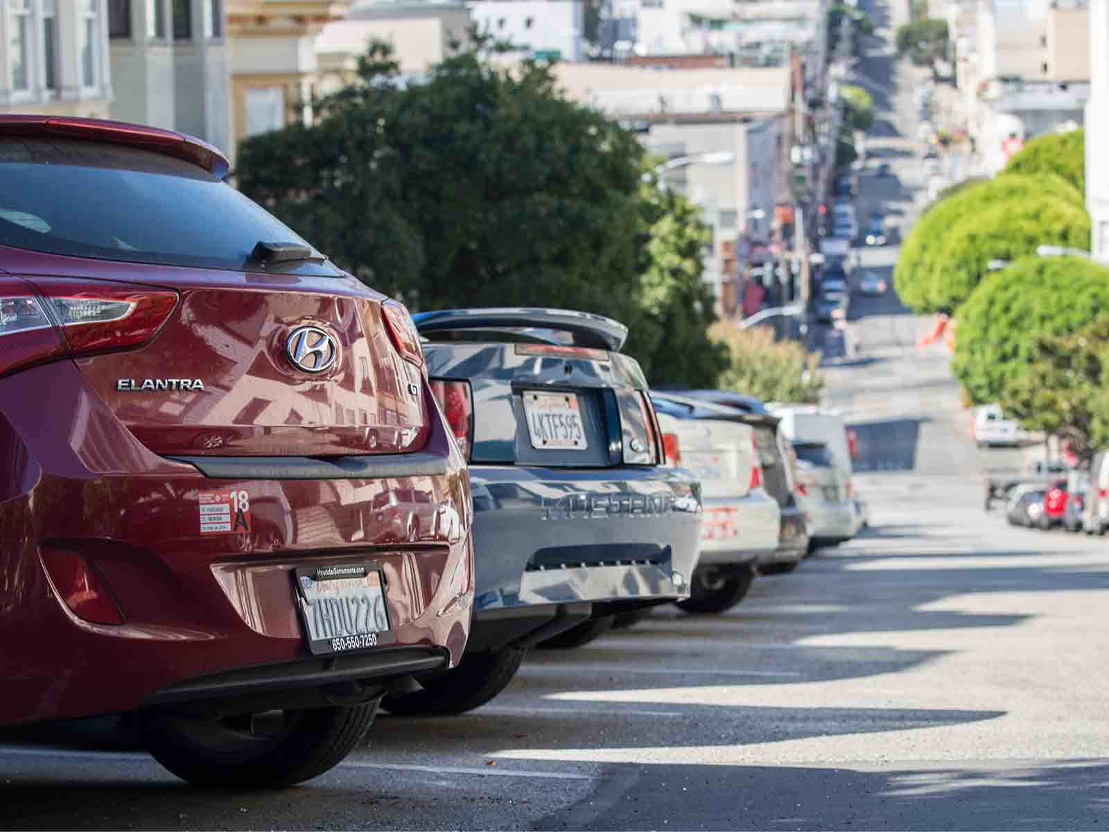 The SFMTA may further limit the number of residential parking permits a household can obtain. The restrictions would first be part of a pilot program in northwest Bernal Heights and the Dogpatch. (Daniel Kim/Special to S.F. Examiner)