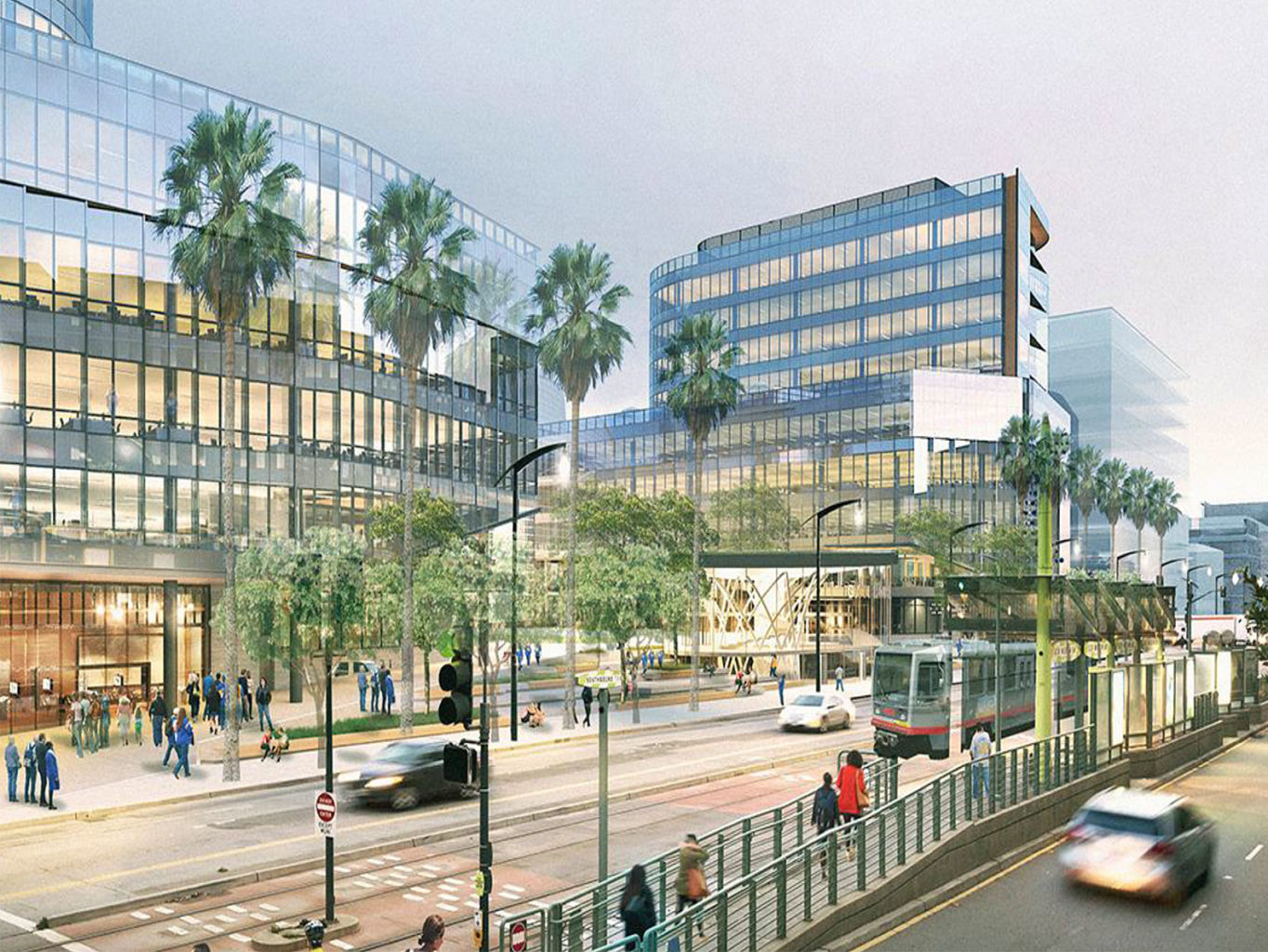 The cost of a new Muni train platform near the Chase Center in Mission Bay is estimated at $33 million, according to the SFMTA. (Courtesy SFMTA)