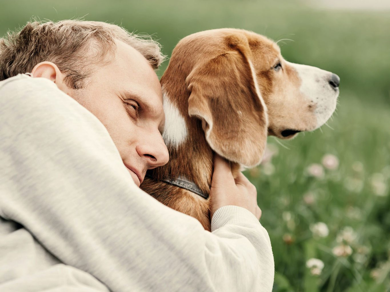 The loss of a beloved dog can be every bit as devastating as the death of a human loved one. (Courtesy photo)