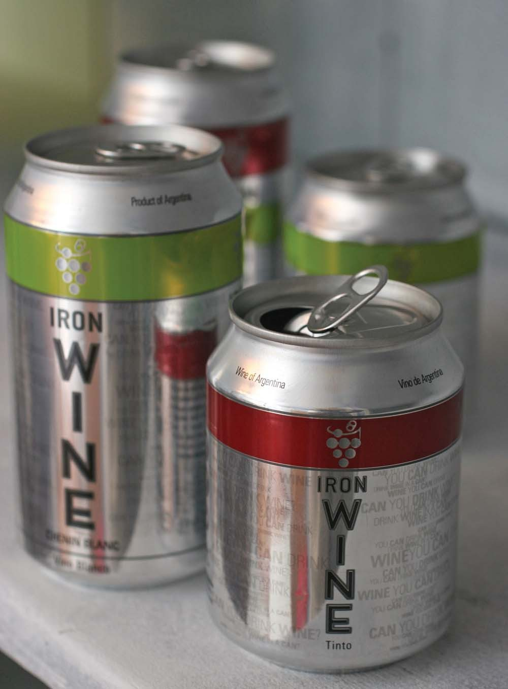 AP file photoPure flavor: Producers of canned wines use special linings to prevent the contents from picking up metallic tastes.