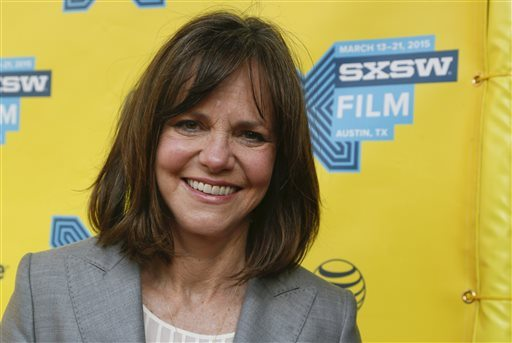 Sally Field is one of several artists who will receive the National Medal of Arts from President Barack Obama at a White House ceremony. (Photo by Jack Plunkett/Invision/AP)