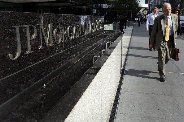 Getty Images file photoJPMorgan Chase Co. will pay nearly $300 million to California public employee and teacher pension funds.