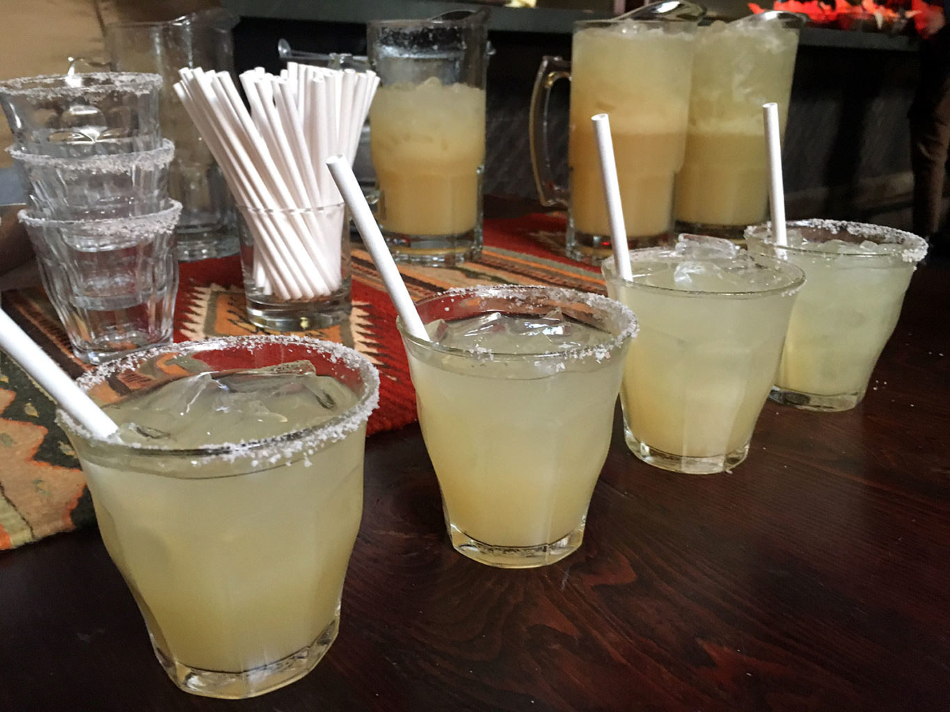 West of Pecos, in San Francisco's Mission District, serves margaritas with paper straws as part of its commitment to move away from unnecessary plastic products. (Robyn Purchia/Special to S.F. Examiner)