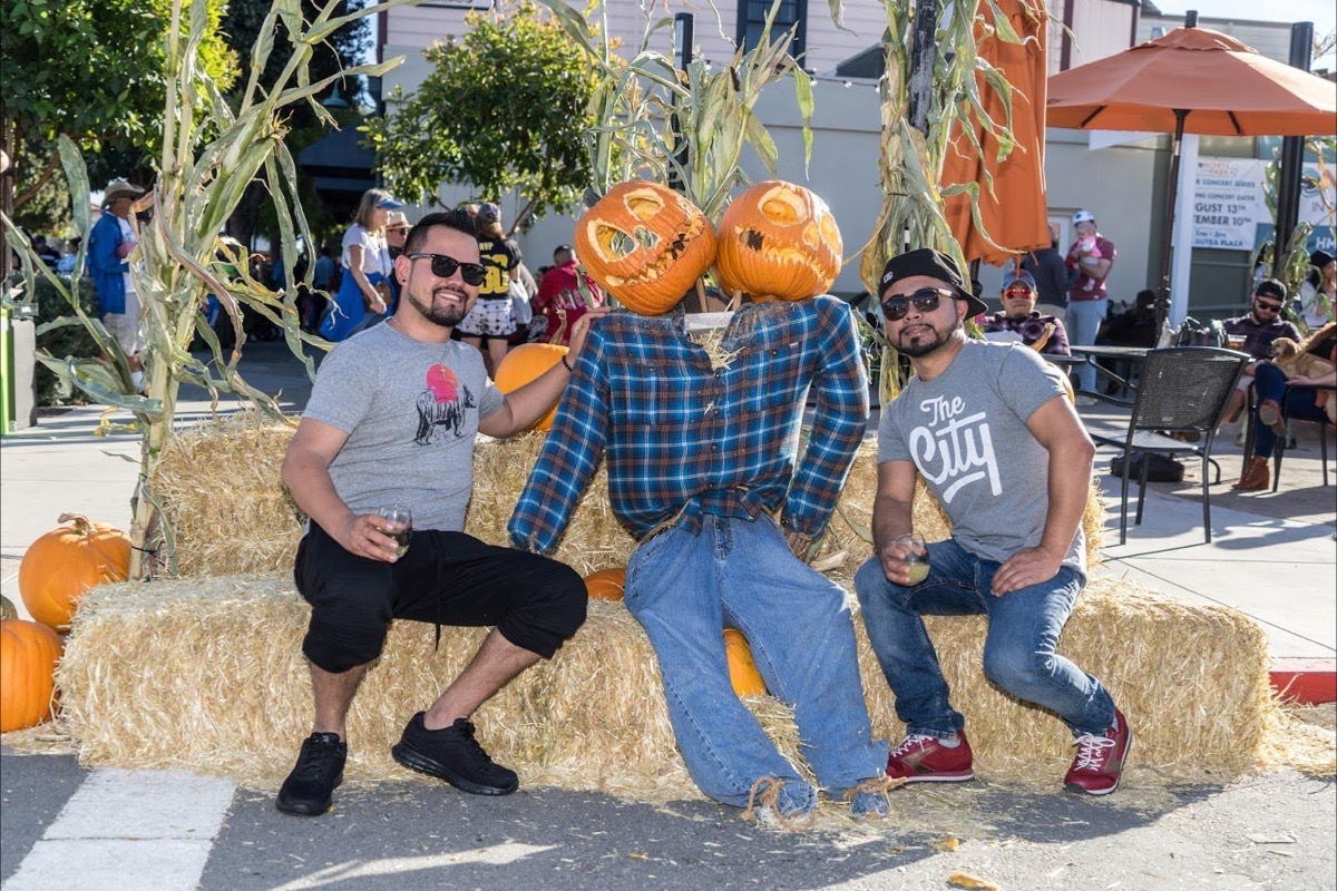 The 48th annual Half Moon Bay Art & Pumpkin Festival Oct. 13-14 celebrates the great gourd with a big lineup of displays and activities. (Courtesy Miramar Events)