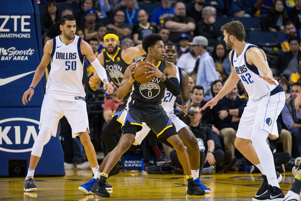 Patrick McCaw has had a rough sophomore season. On Wednesday, the Warriors announced he would be out for at least four weeks with a broken left wrist. (Stan Olszewski/Special to S.F. Examiner)