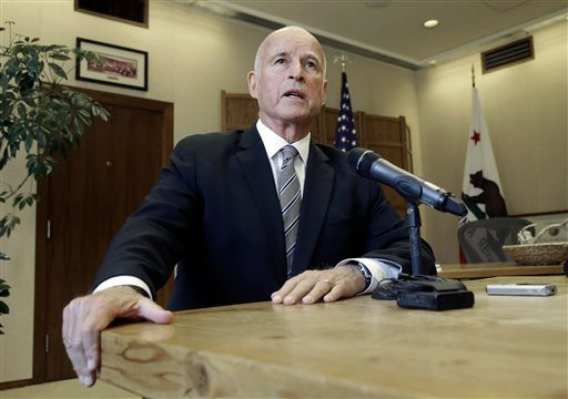 Rich Pedroncelli/AP File PhotoJerry Brown made history on Monday when he was sworn in for his fourth term as governor of California.