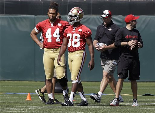 AP file photoNiners running back Marcus Lattimore is contemplating retirement due to a serious knee injury he sustained in college two years ago. He has not played in an NFL game.