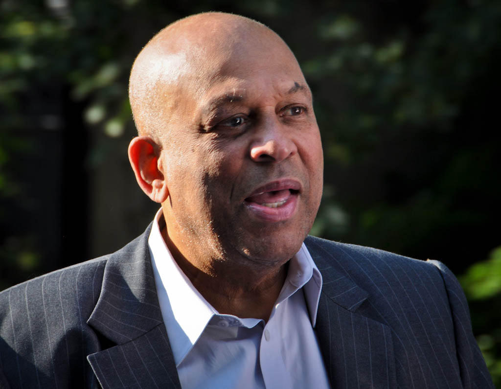 Orlando Cepeda in 2013. The legendary San Francisco Giants hitter was rushed to the hospital after a cardiac event and remains in critical condition Wednesday. (Courtesy Chris Evans/Flickr)
