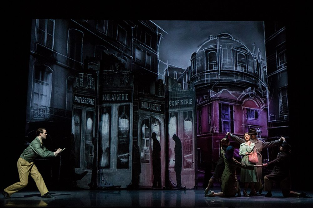 """McGee Maddox and Sara Esty star in """"An American in Paris"""" at the Orpheum. (Courtesy Matthew Murphy)"""