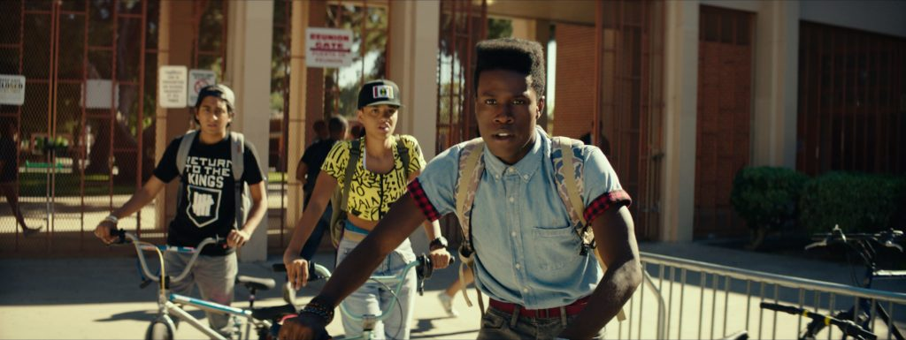 "From left, Tony Revolori, Kiersey Clemons and Shameik Moore are good in ""Dope."" OPEN ROAD FILMS/RACHEL MORRISON"