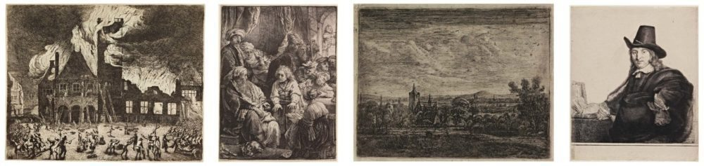 "Works by master printmakers, including Rembrandt and his peers, are on view in ""The Wonder of Everyday Life: Dutch Golden Age Prints"" at Cantor Arts Center at Stanford. (Courtesy Cantor Arts Center)"