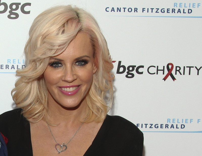 Sad to learn that Playboy  magazine will stop running photos of naked women soon, former Playmate Jenny McCarthy offered to pose one last time. (Andy Kropa/Invision/AP)